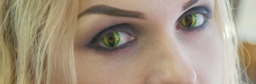 Trick or treat? Wearing colored contact lenses